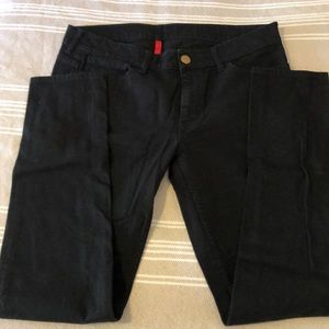 Uniqlo black mid rise skinny jean